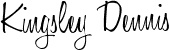 Kingsley signature