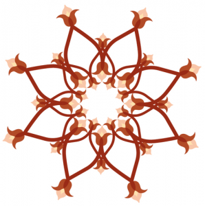 floral-circle-pattern